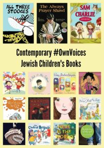 Contemporary #OwnVoices Jewish Children's Books