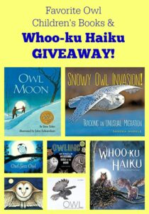 Favorite Owl Children's Books & Whoo-ku Haiku GIVEAWAY!