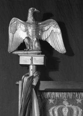 A French Imperial Eagle finial