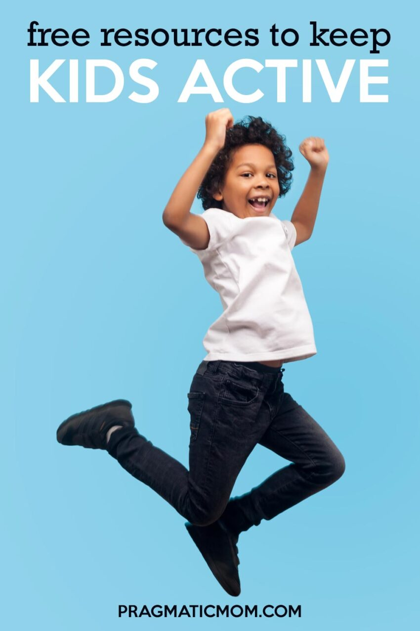 Free Resources to Keep Kids Active