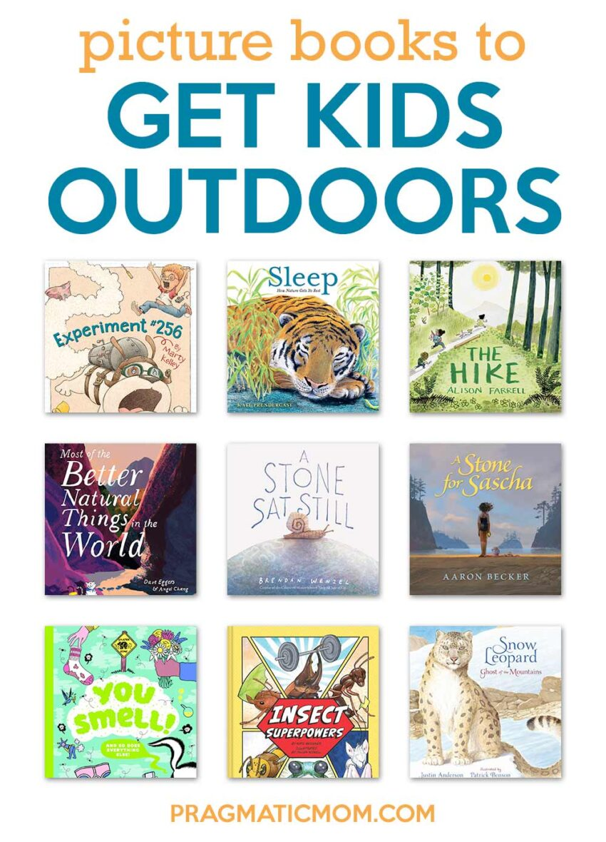 Picture Books to Get Kids Outdoors