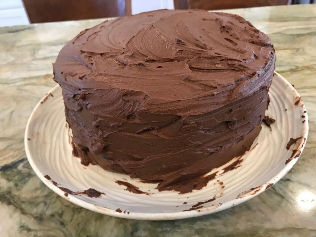 Judy Hesser's Dump It Cake