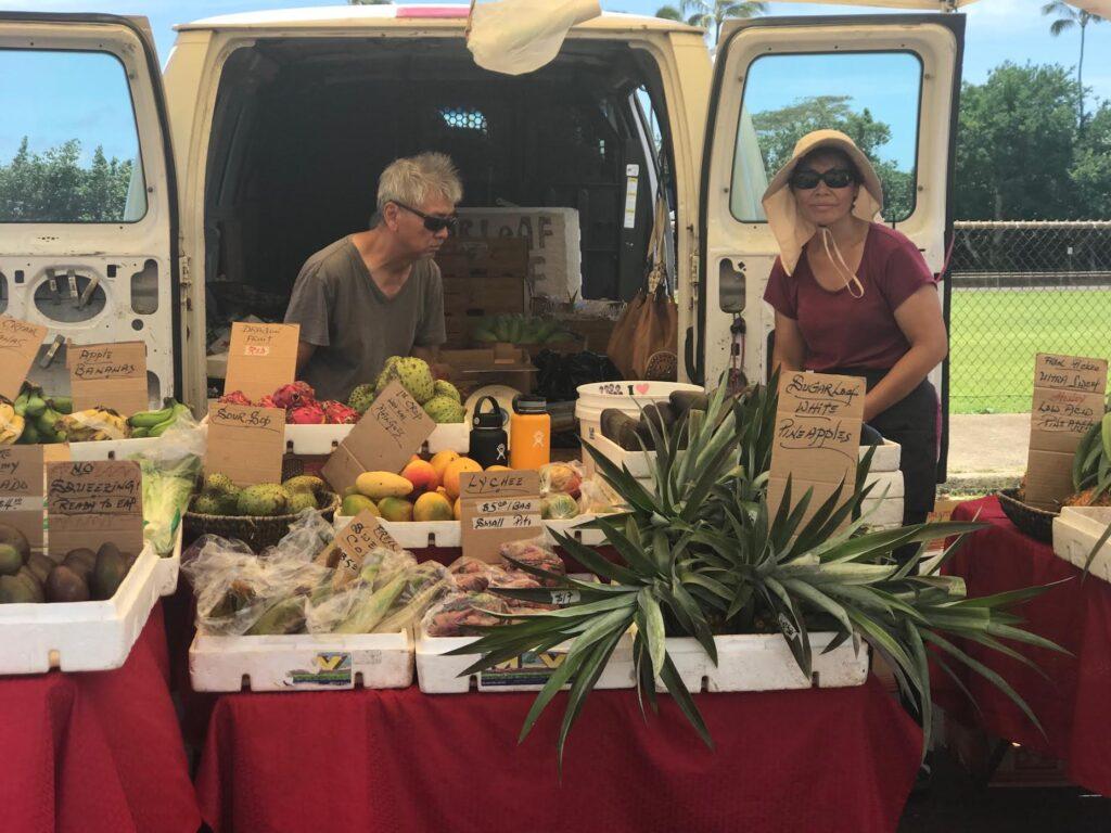 Old Koloa Town Farmer's Market in Kauai