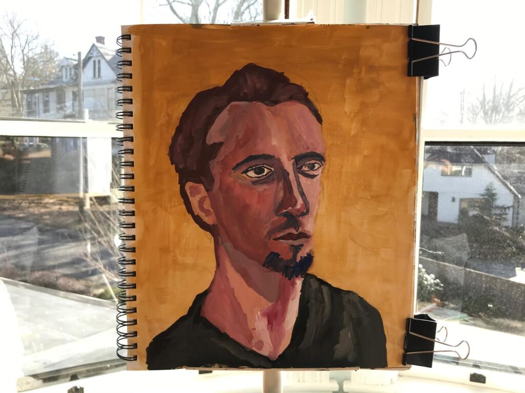 Catherine Graffam Portrait Painting Class art teacher