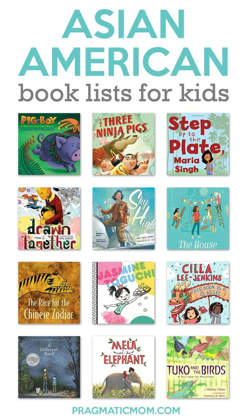 Asian American Book Lists for Kids