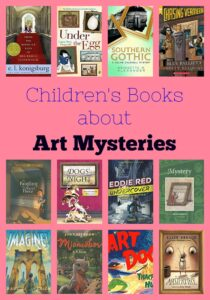 Children's Books About Art Mysteries