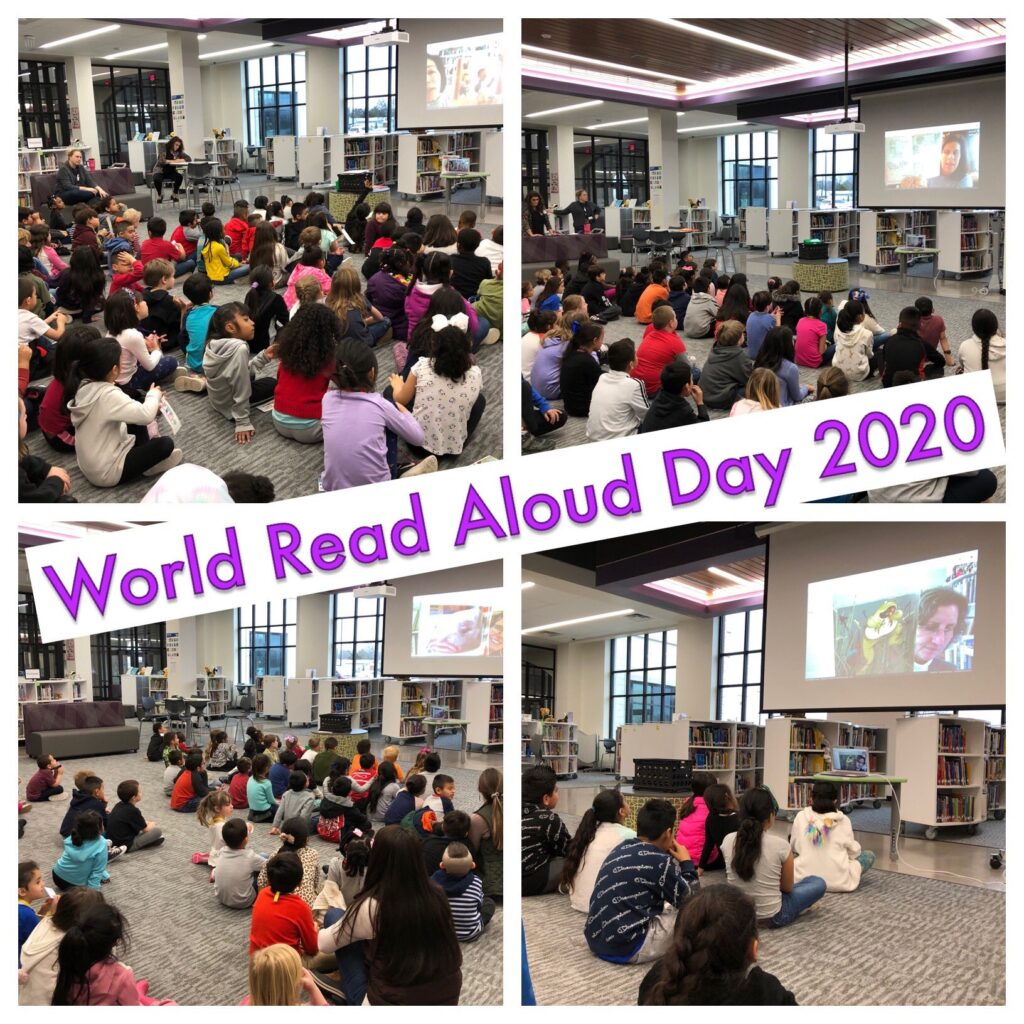 My World Read Aloud Day 5