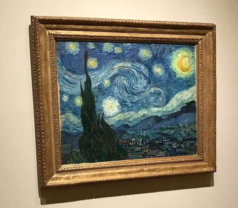 Starry Night by Vincent Van Gogh at the Museum of Modern Art