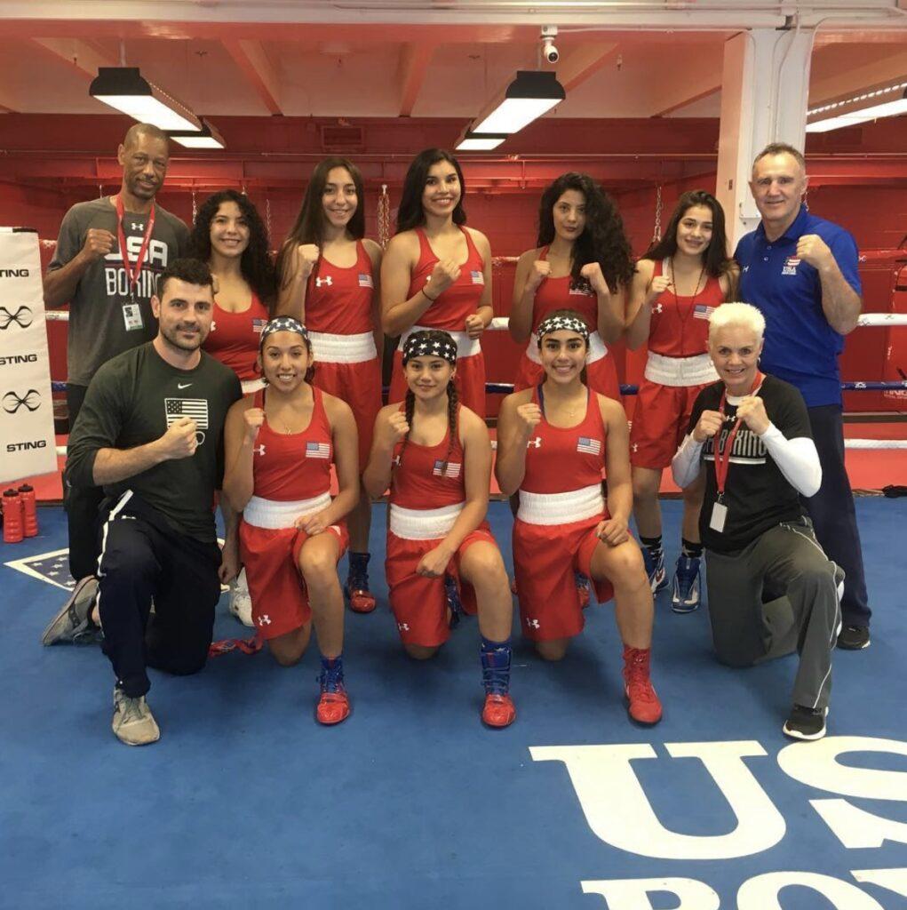 US Boxing Elite Girls Boxing