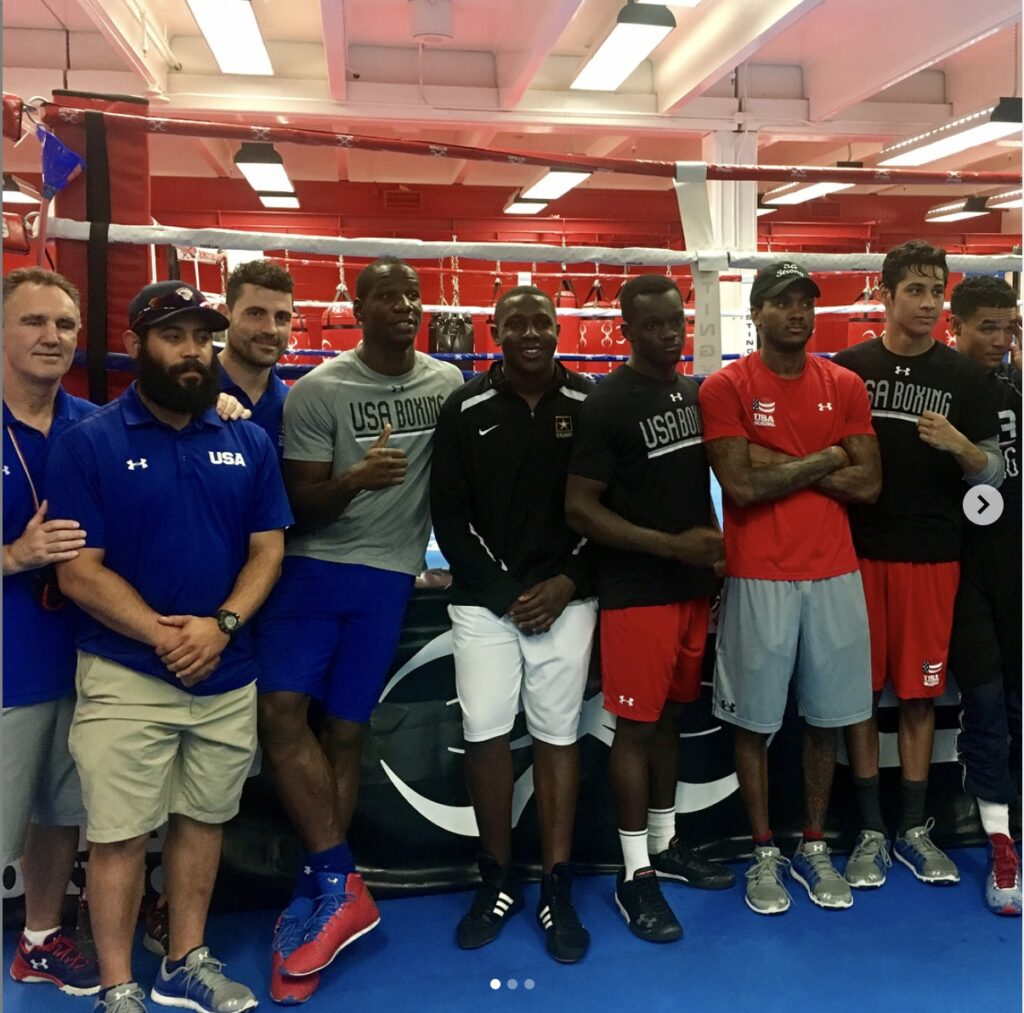 US National Boxing Team Marc Gargaro