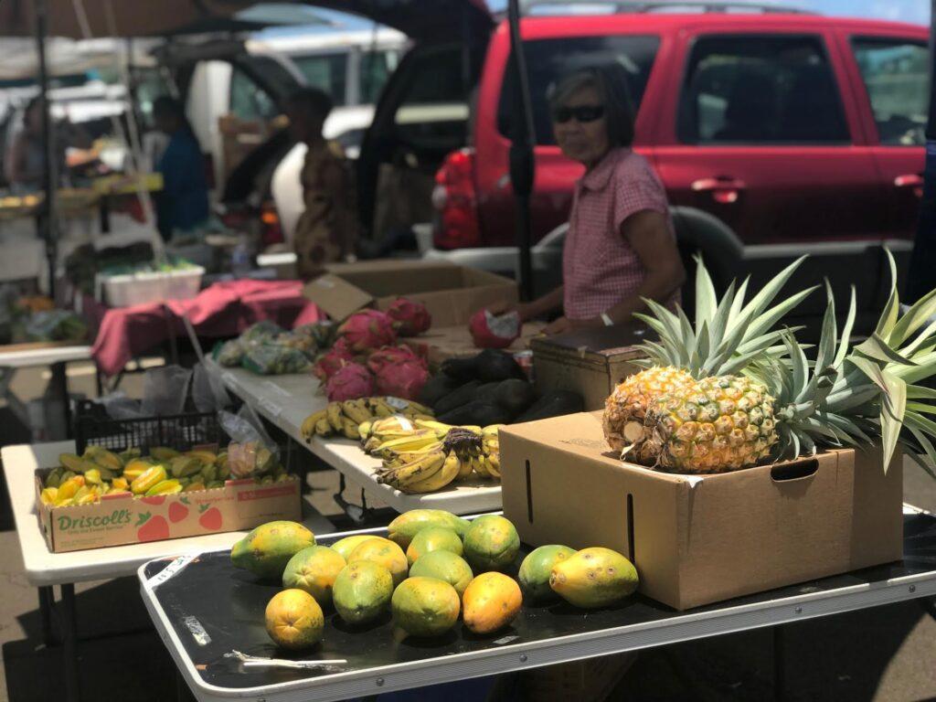 Farmer's Market at Koloa Kauai