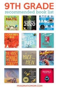 9th Grade Recommended Book List