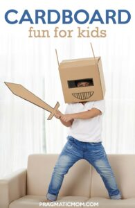 Cardboard Fun for Kids