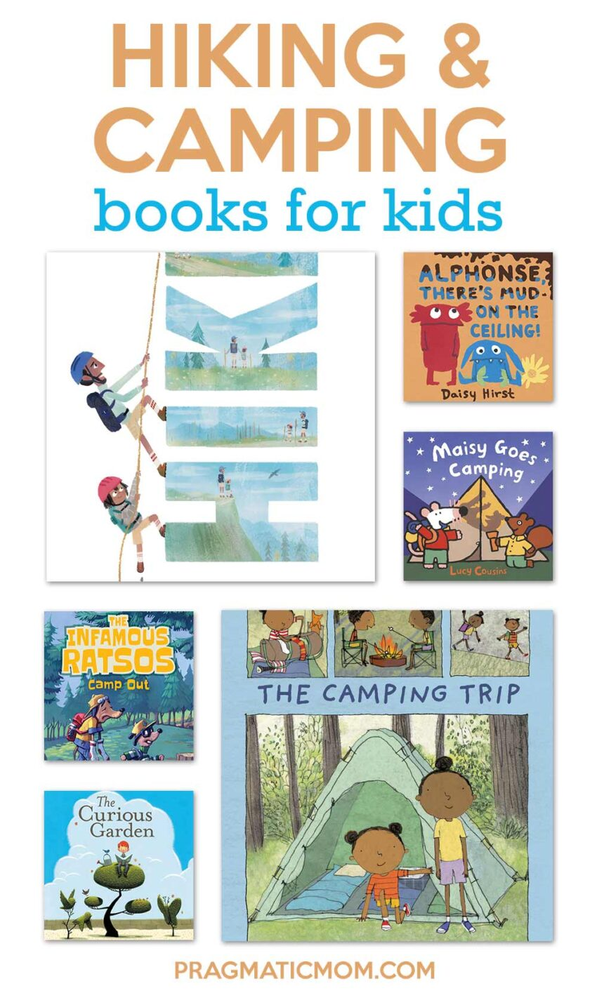 Hiking and Camping Books for Kids