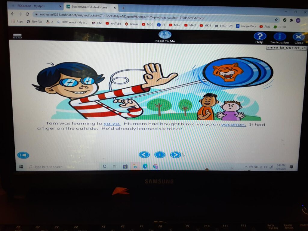 """Pearson ELA """"Successmaker"""" online curriculum image 2"""