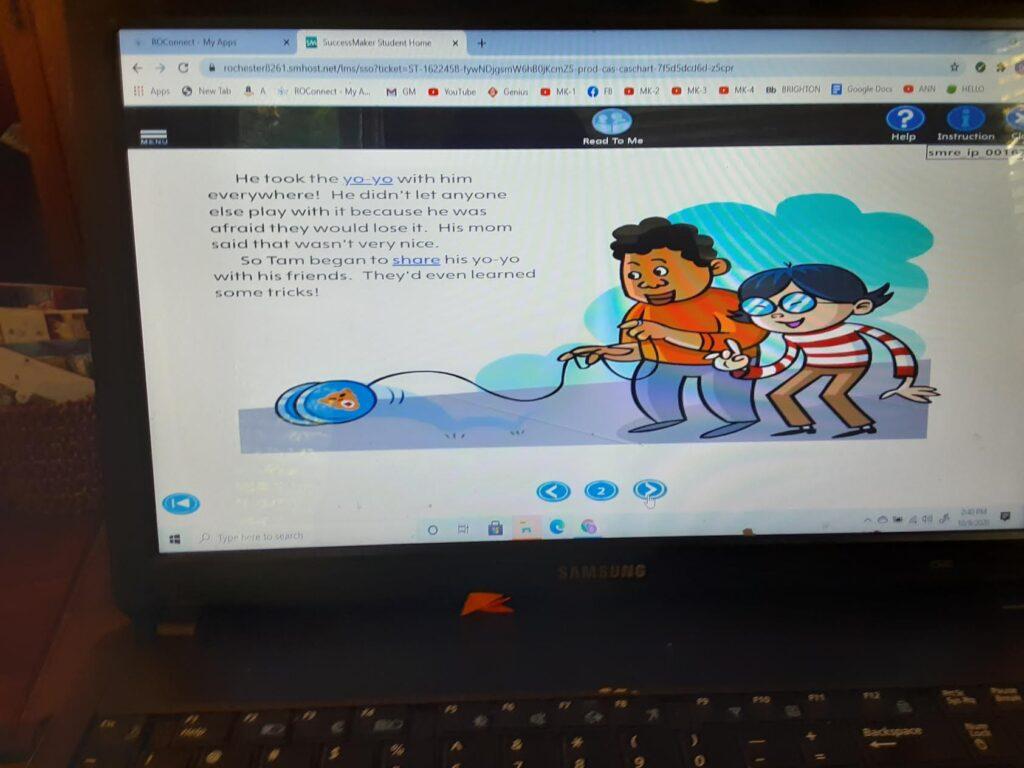 """Pearson ELA """"Successmaker"""" online curriculum image 1"""