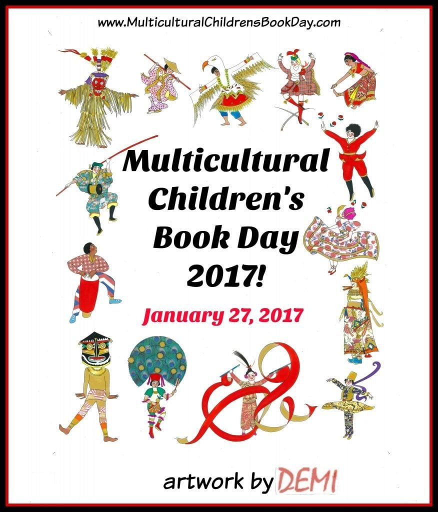 Demi illustrated our 2017 Multicultural Children's Book Day Poster