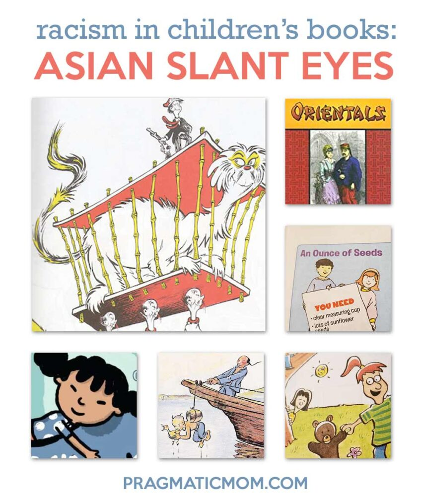 Racism in Children's Books: Asian Slant Eyes