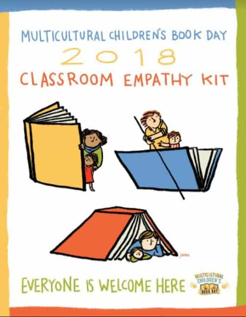 Our 2018 Classroom Empathy Kit Poster on Immigration and the Refugee Experience is by Juana Medina!