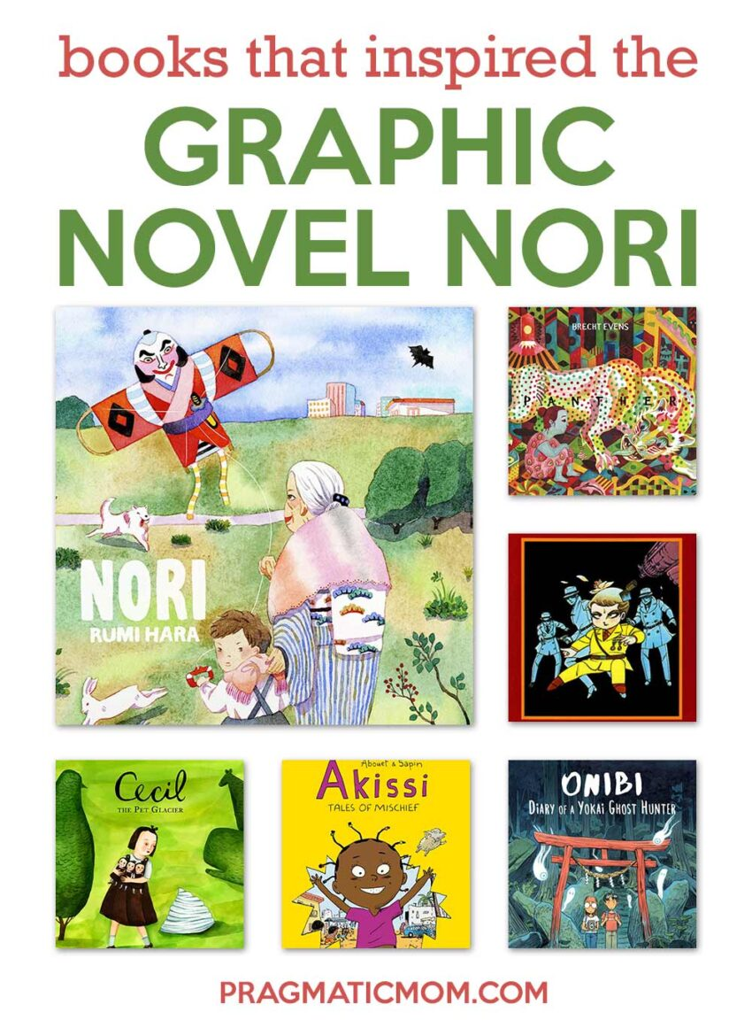 Books that inspired graphic novel NORI