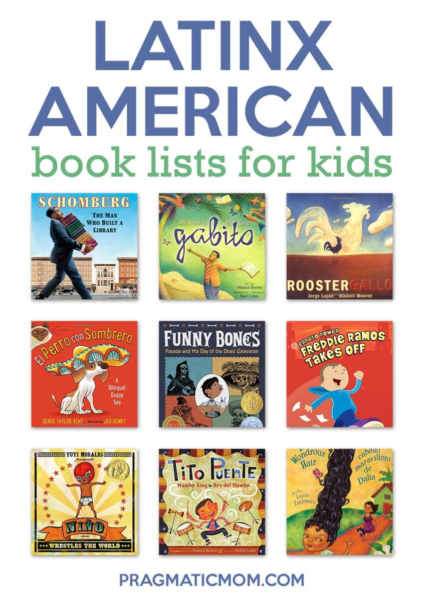 Latinx American Book Lists for Kids