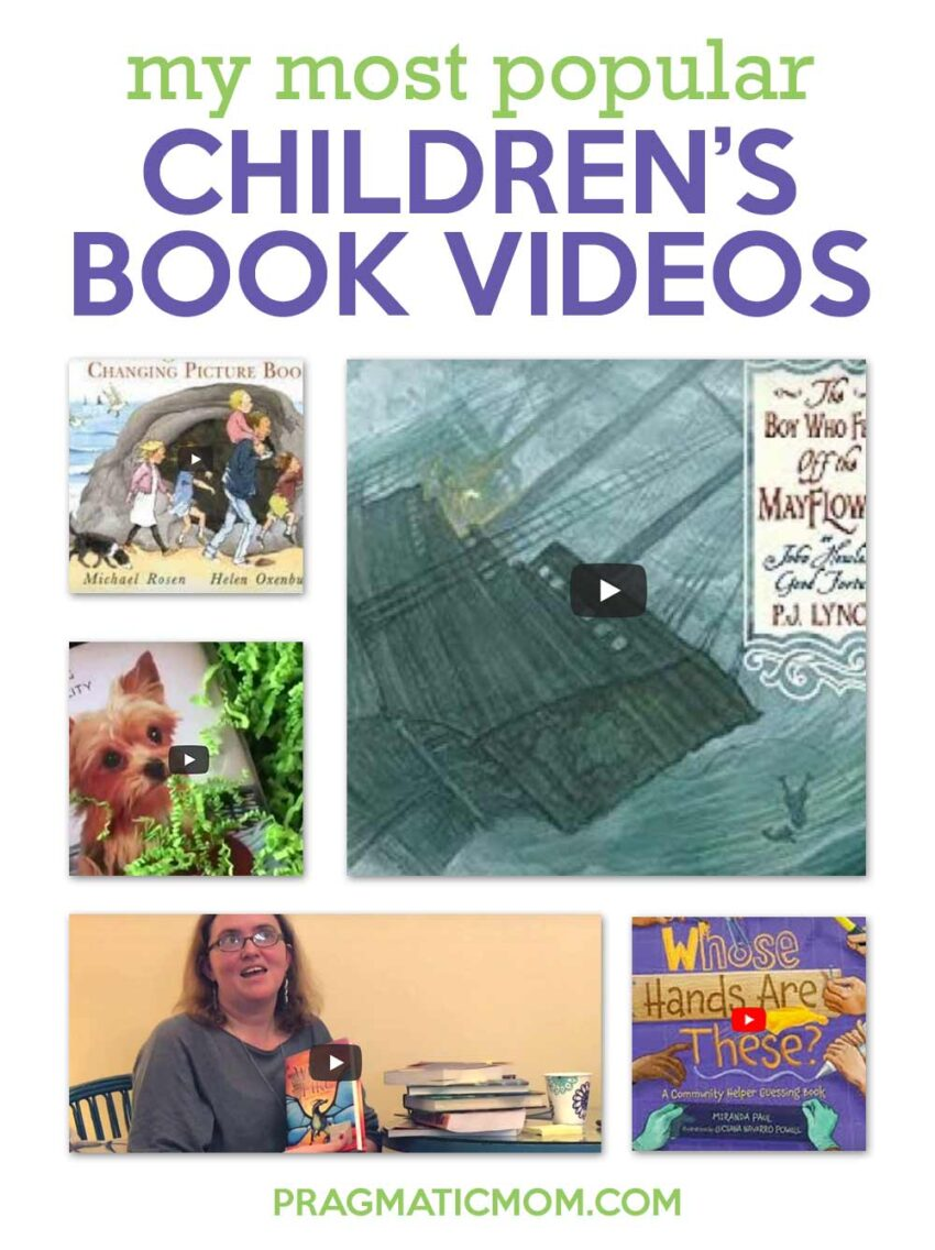 My Most Popular Children's Book Videos (and why)