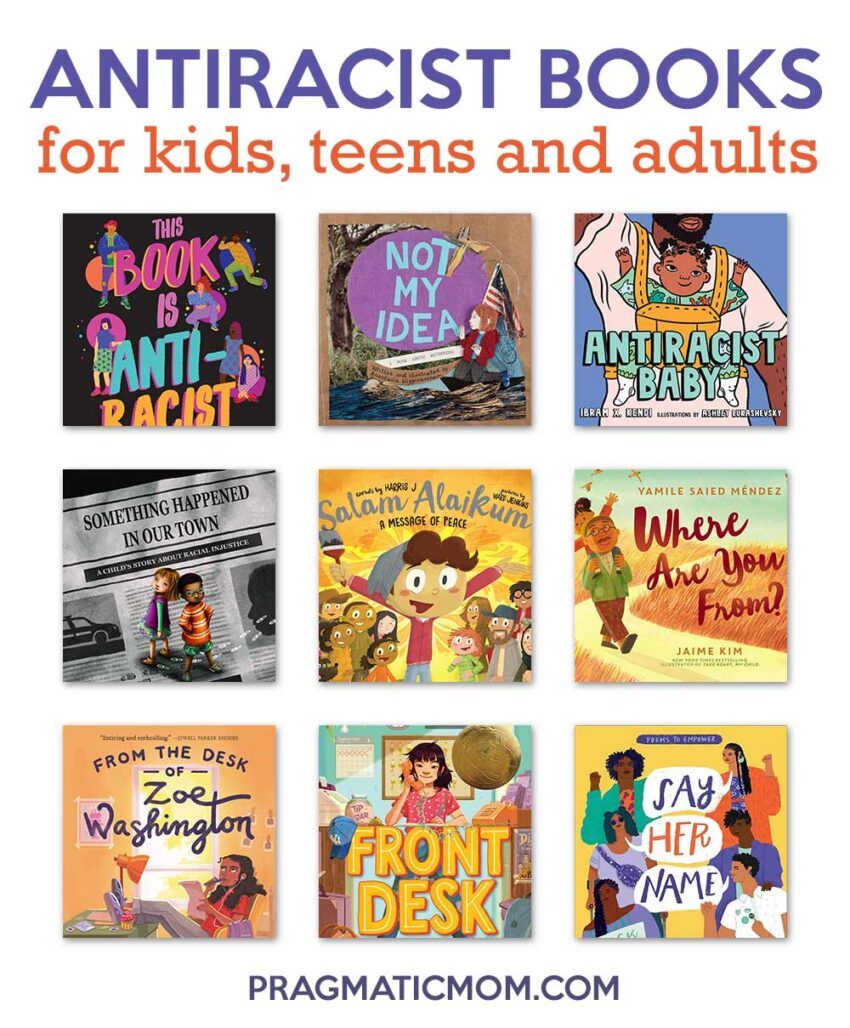 Antiracist Books for Kids, Teen, and Adults