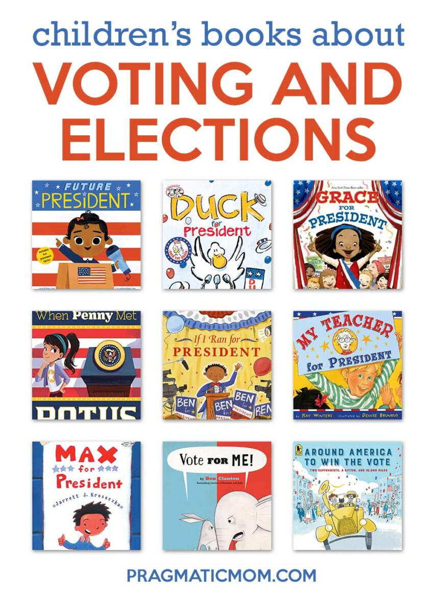 Voting and Election Children's Books