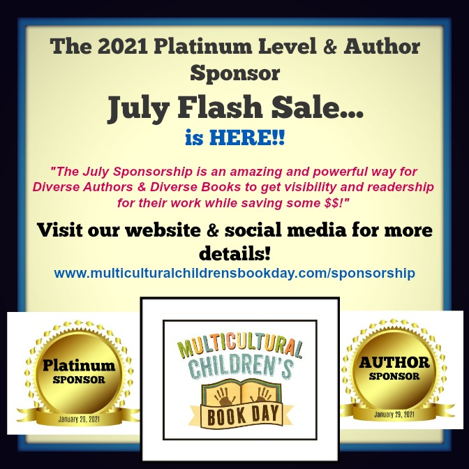 Multicultural Children's Book Day Sponsorship Flash Sale