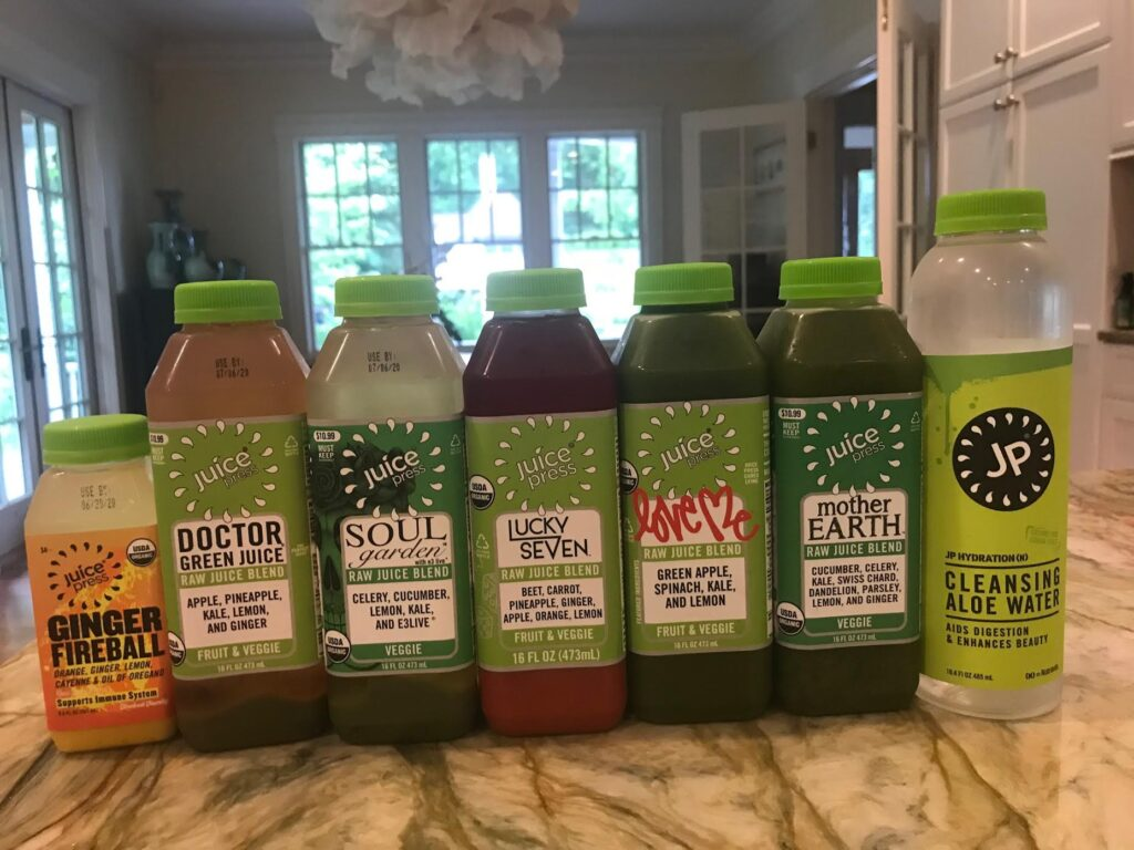 My First Juice Cleanse