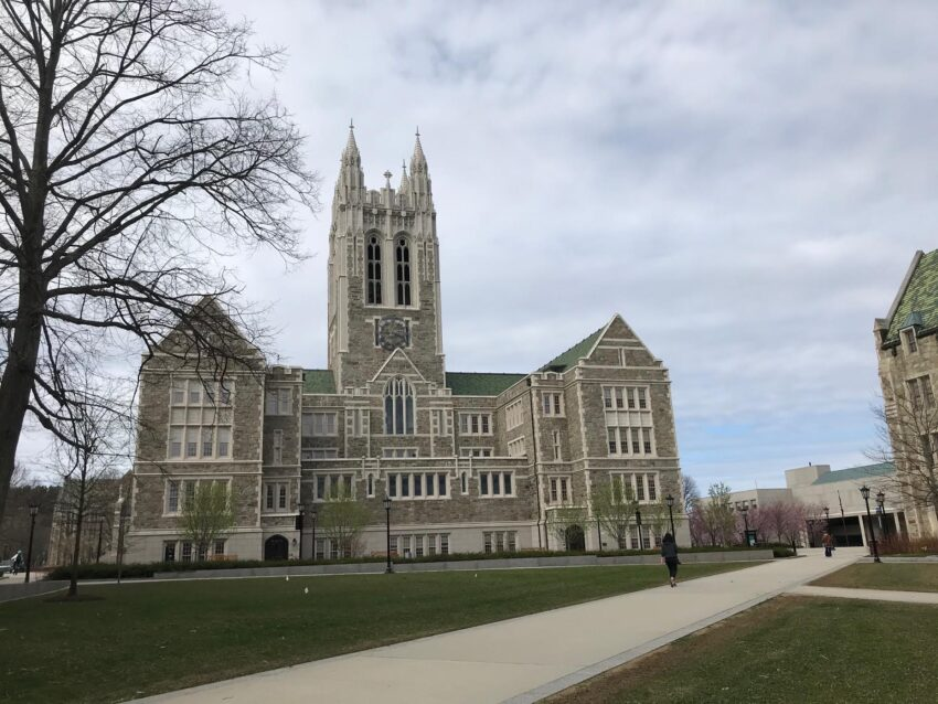 Visiting Boston College during COVID Quarantine