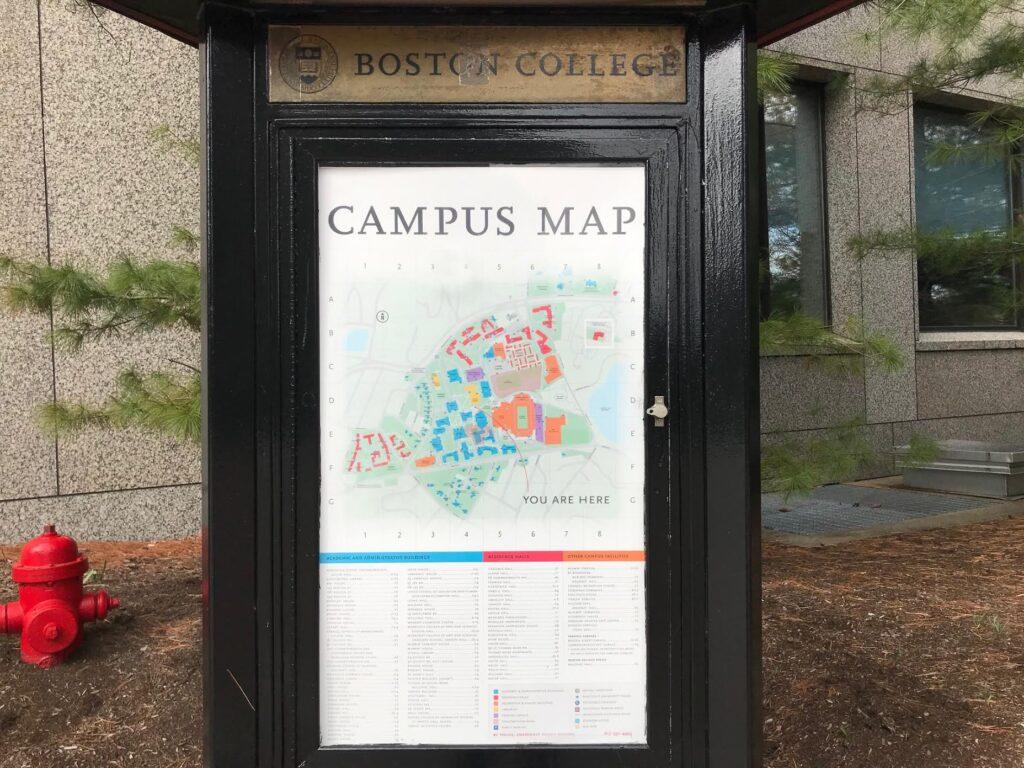 Visiting Boston College during COVID Quarantine