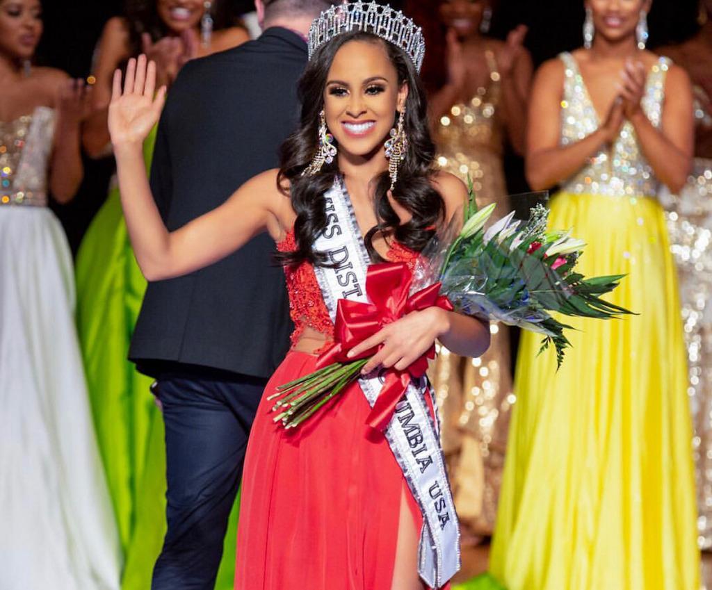 Cordelia Cranshaw, Miss District of Columbia USA