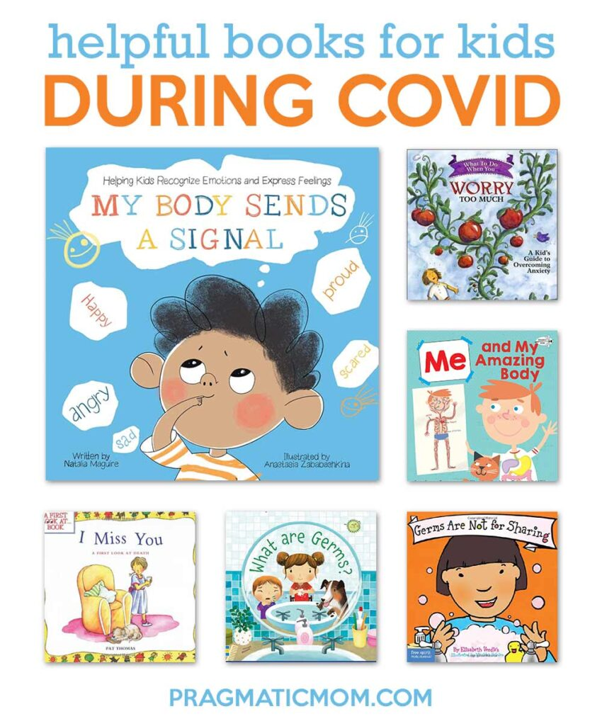 Helpful Books for Kids during COVID