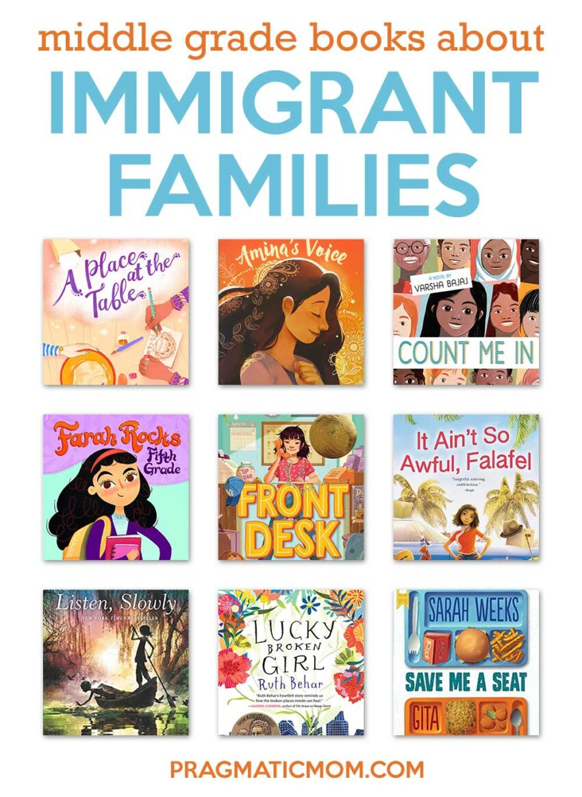 Middle Grade Books about Immigrant Families