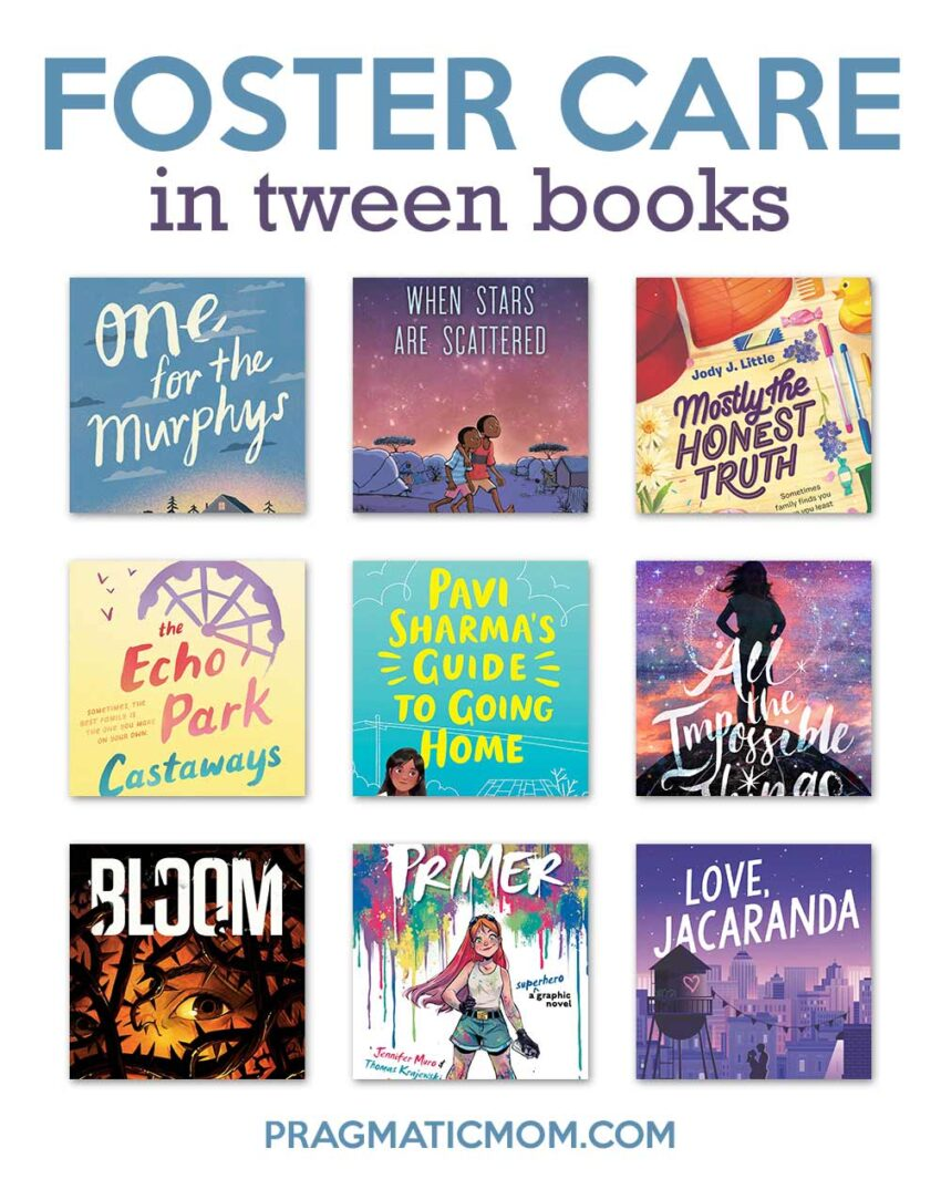Foster Care in Tween Books