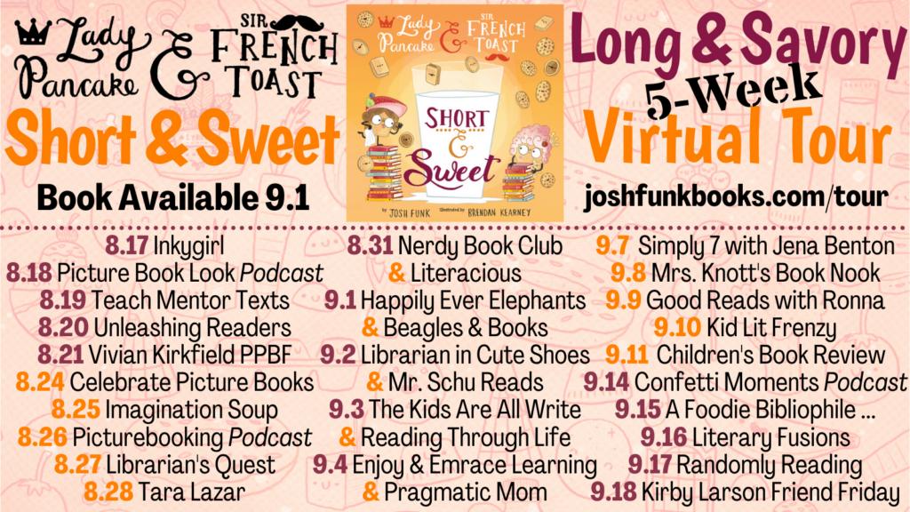 Short & Sweet Josh Funk Blog Tour