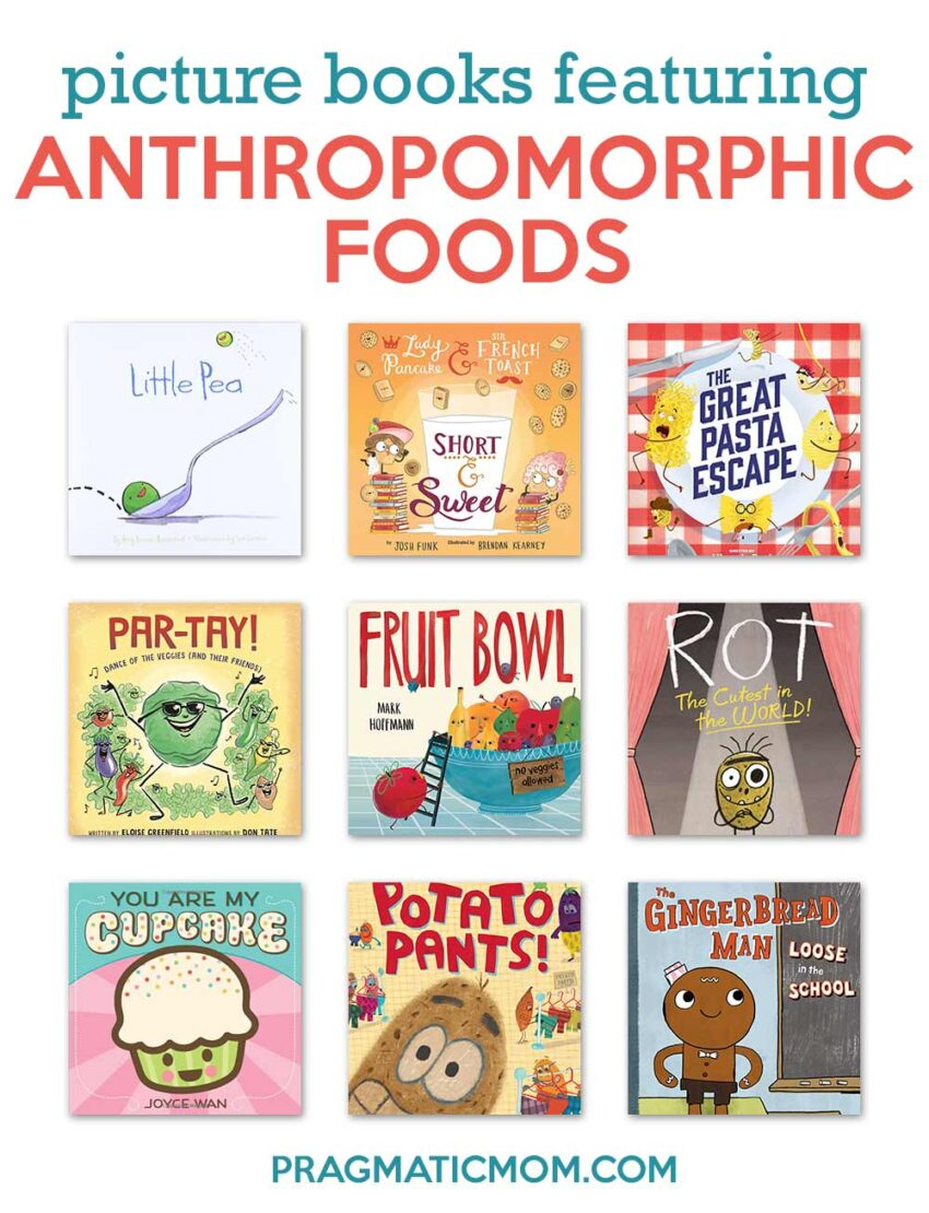 Top 8 Picture Books Featuring Anthropomorphic Foods & GIVEAWAY!