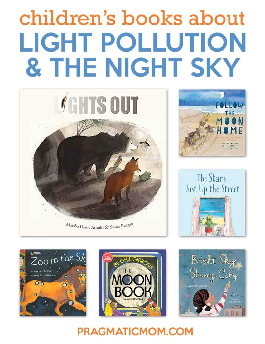 6 Books on Light Pollution and the Night Sky & GIVEAWAY!