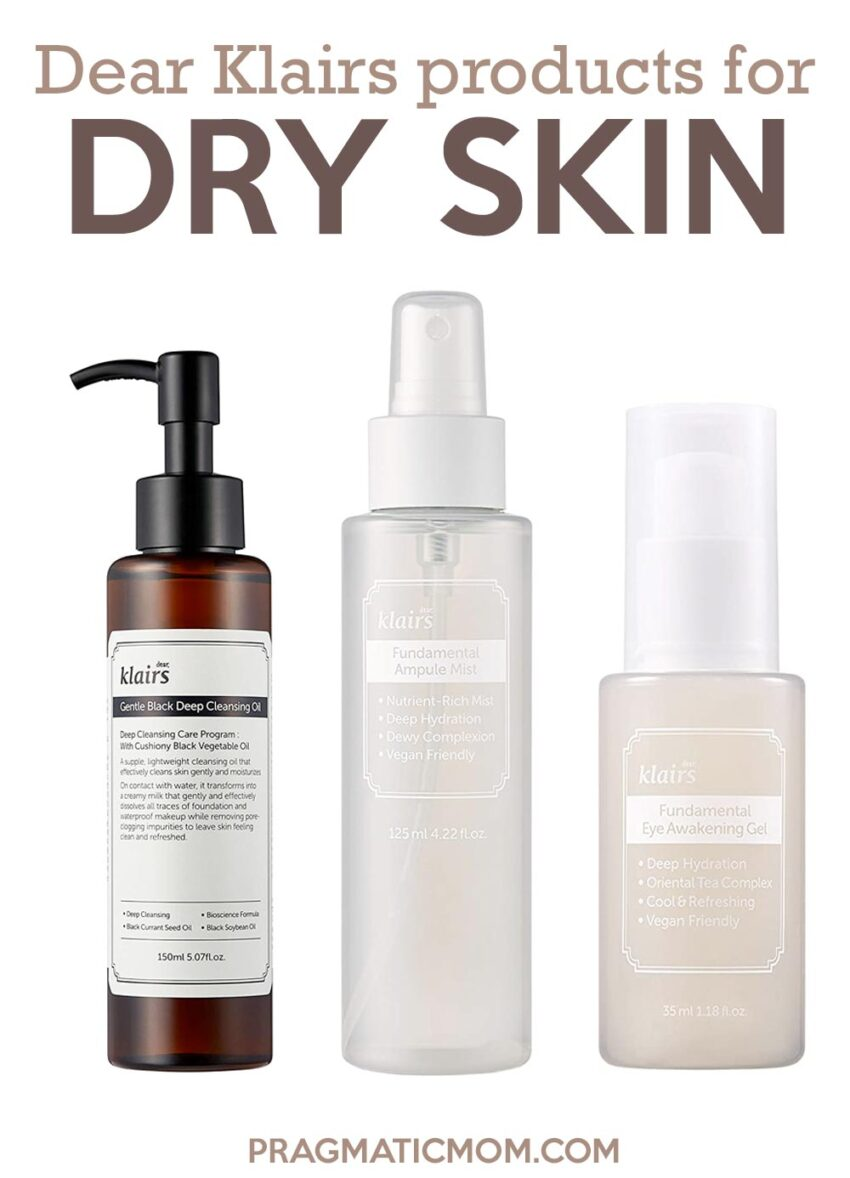 Dear Klairs Products for Dry Skin