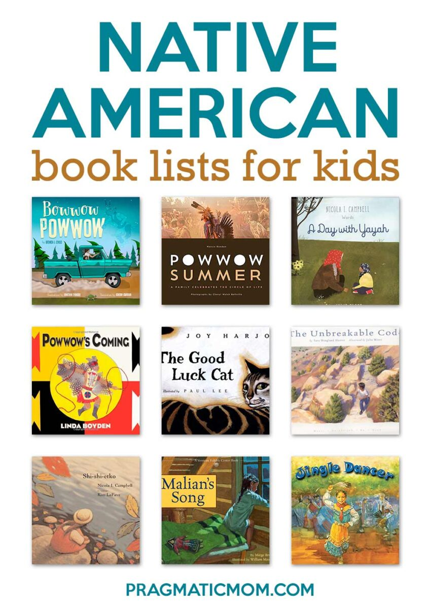 Native American Book Lists For Kids
