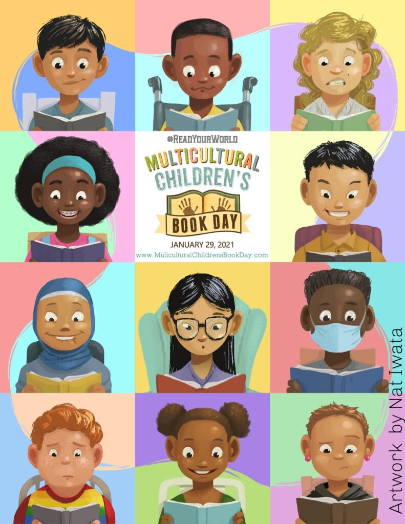 Multicultural Children's Book Day 2020 Poster Reveal! Nat Iwata