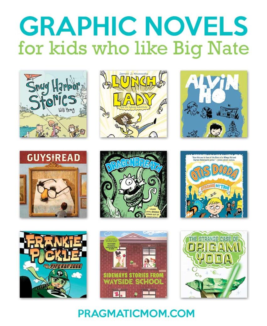 Books for Big Nate Fans & 3 Book BIG NATE GIVEAWAY!