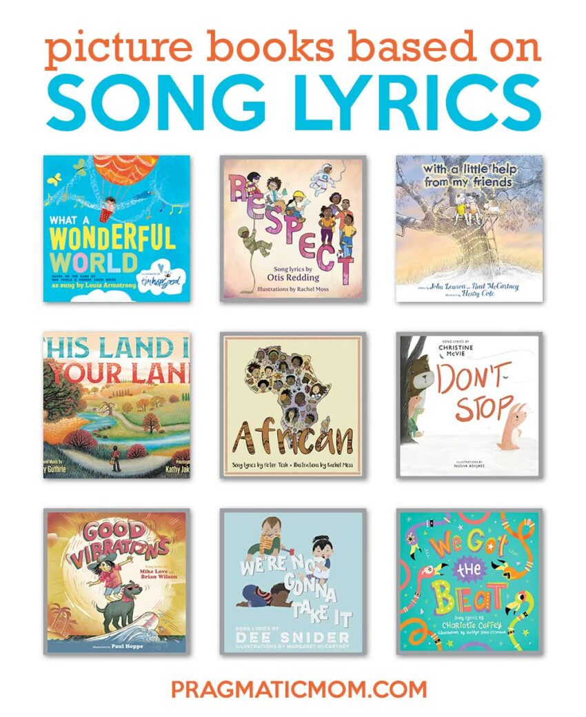 Picture Books Based on Song Lyrics