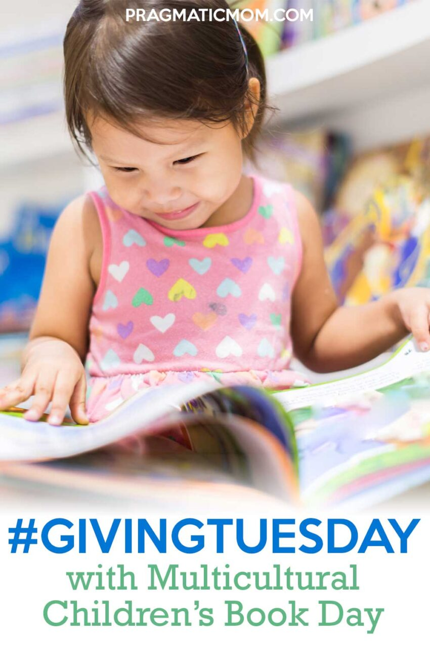 #GivingTuesday with Multicultural Children's Book Day