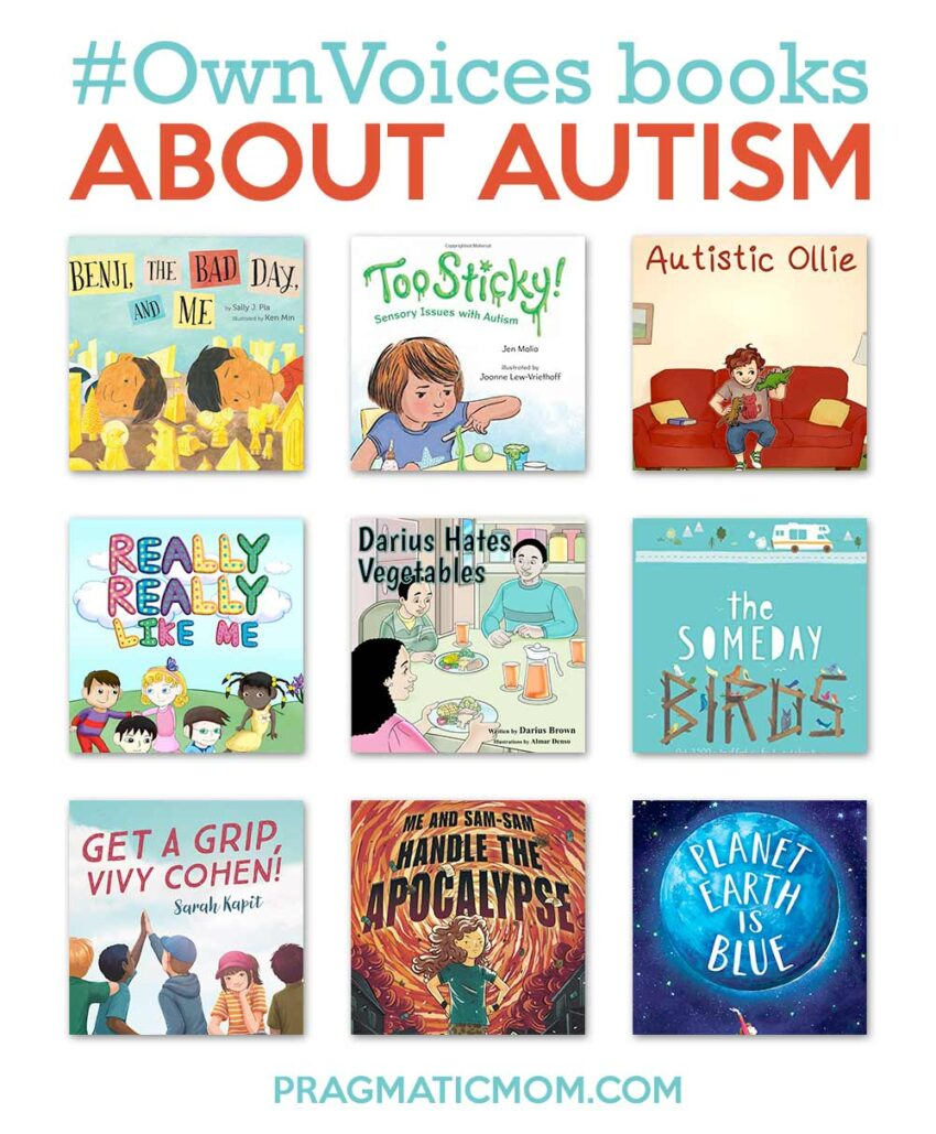 15 #OwnVoices Books about Autism