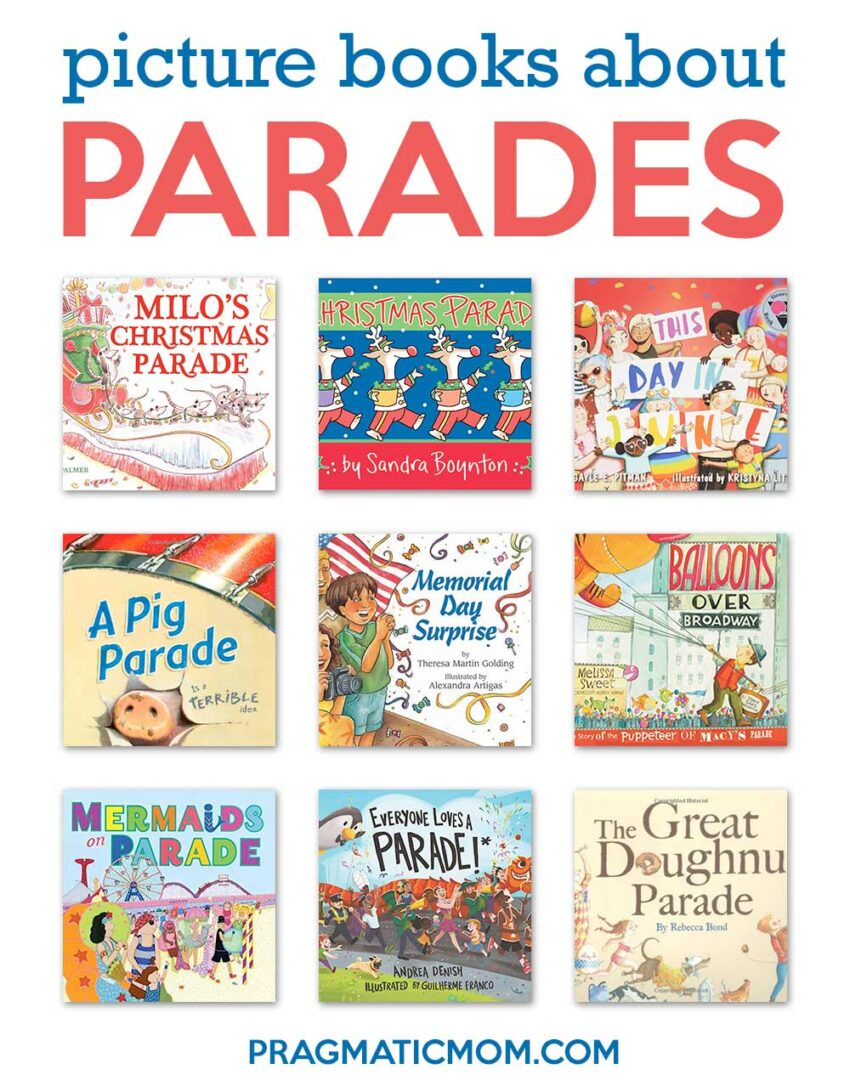 Parade Picture Books & 3 Book GIVEAWAY!