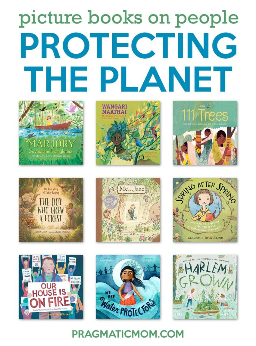 Picture Books on People Protecting the Planet