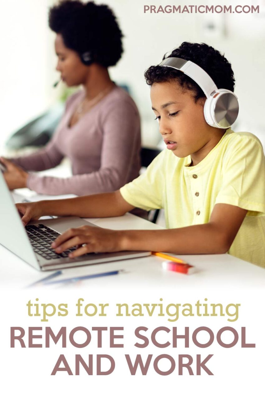 Tips for Families Navigating Remote School and Work