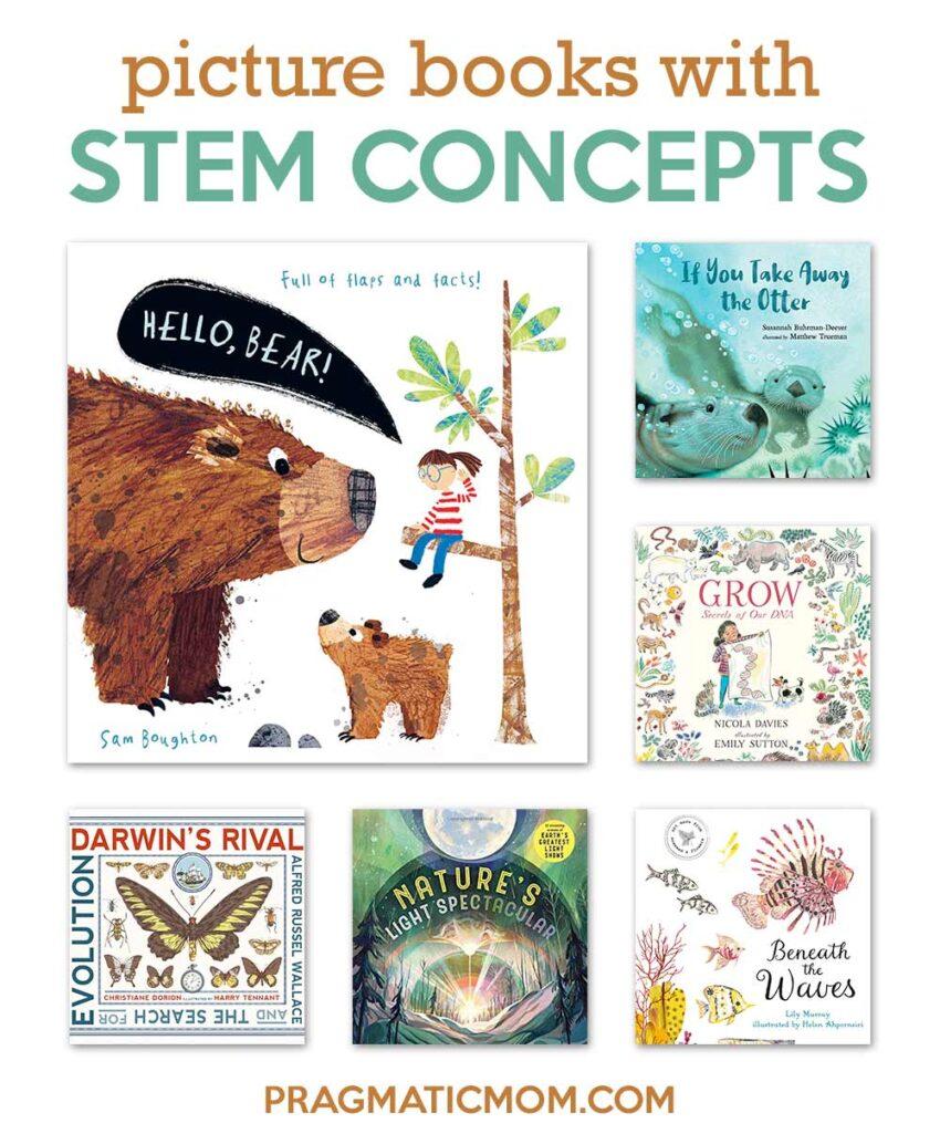 New STEM Picture Books